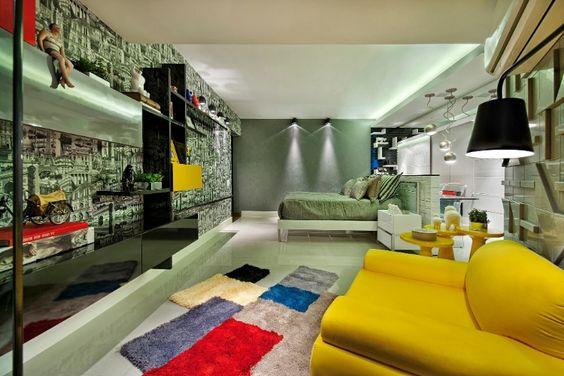 Casa Cor Goiás - quarto dele!
