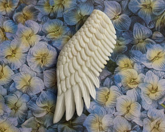 Wings, Carved Bone