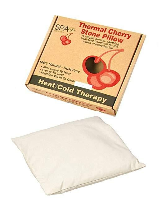 cherry stone thermal pillows natural
