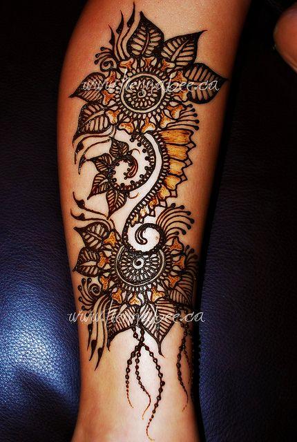 Henna by Henna Bee Designs: Awesome Tattoo, Calf Tattoo, Henna Design, Beautiful Tattoo, Henna Tattoo, Henna Inspired Tattoo