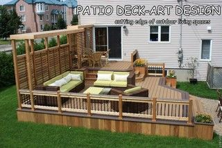 Patio Deck-Art Designs®TREX - contemporary - porch - montreal - by Patio Deck-Art Designs