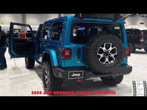2020 Jeep Wrangler Rubicon Unlimited Exterior And Interior Walkaround 2020 San Diego Auto Show In 2020 Jeep Wrangler Rubicon Jeep Wrangler Unlimited Rubicon Jeep