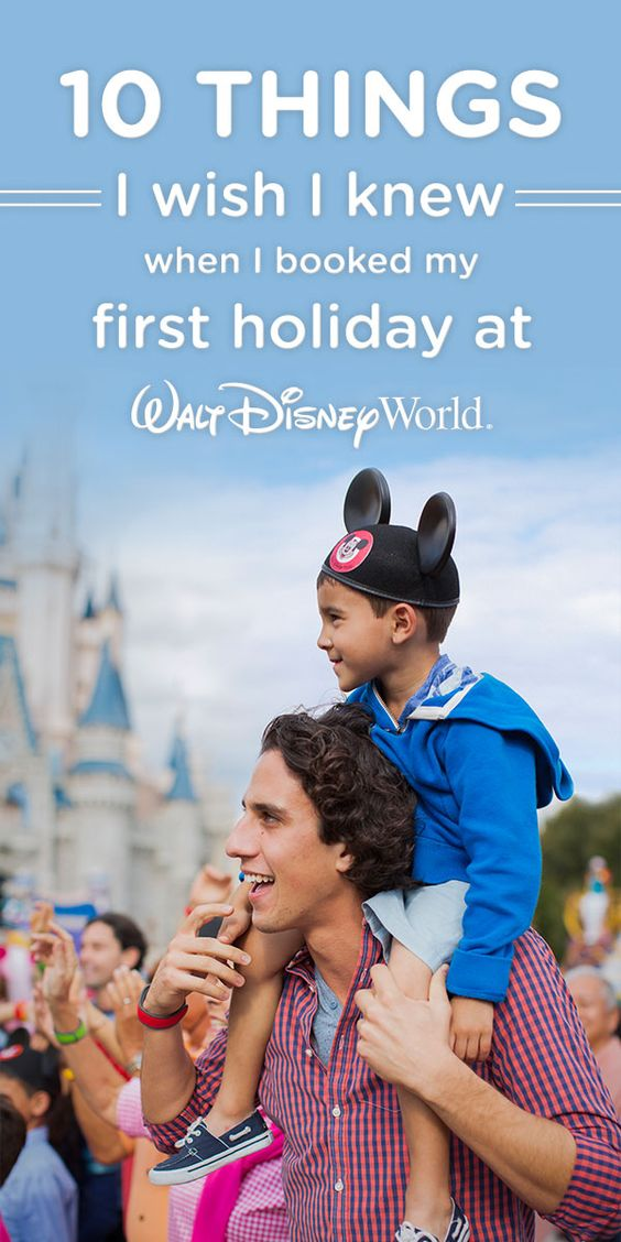 Booking your first holiday at Walt Disney World? Here's 10 tips to help you plan and book the perfect vacation!