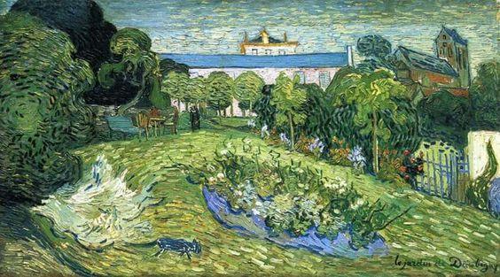 B. Van Gogh, Giardino di Daubigny