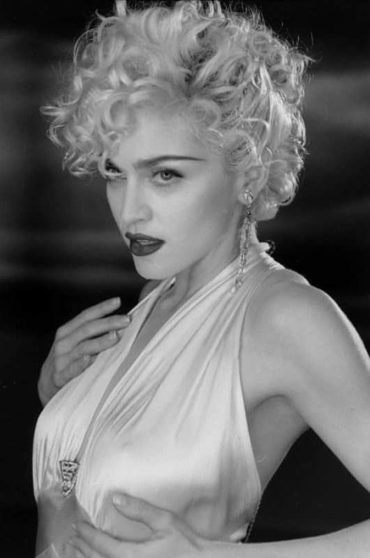 Madonna — Madonna on set of Vogue, 1990