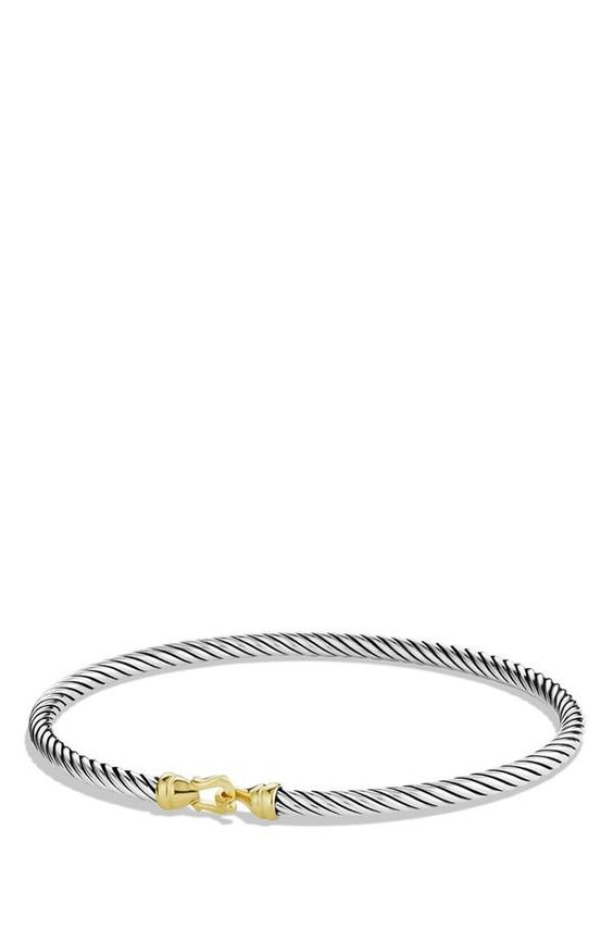 Nordstrom, Two-toned Bracelet/Silver & Gold ♥