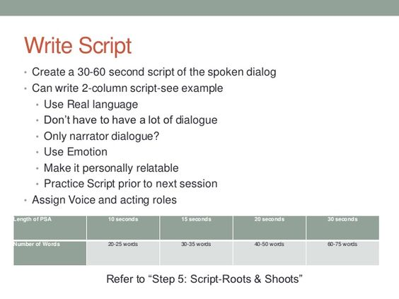 how to write radio script A simple way is to create two radio ads with different introductions, scripts, or call-to-actions and air one ad 50% of the time and air the other ad 50% of the time then, each commercial.