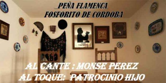 RECITAL: Peña Flamenca Fosforito. Viernes 9 Feb. #Flamenco