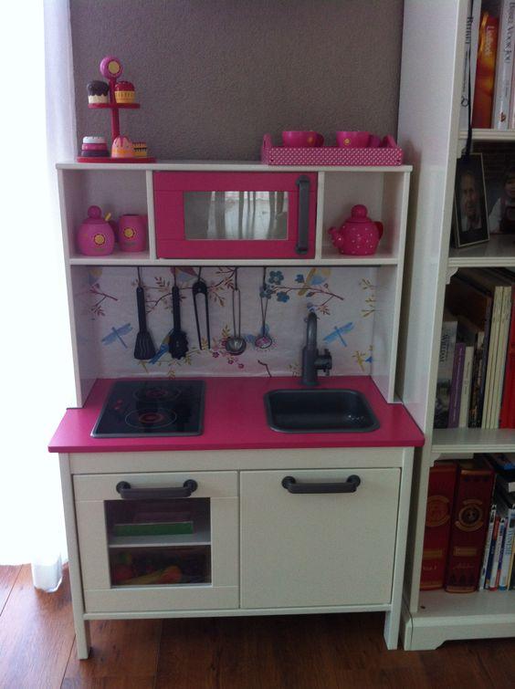 gepimpt ikea keukentje speelkamer pinterest ikea. Black Bedroom Furniture Sets. Home Design Ideas