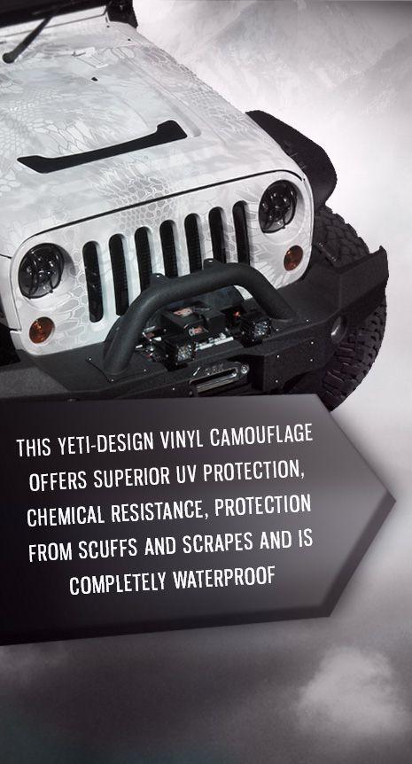 Lifted 2013 Jeep Wrangler Unlimited Custom Leather Kryptek yeti Camo