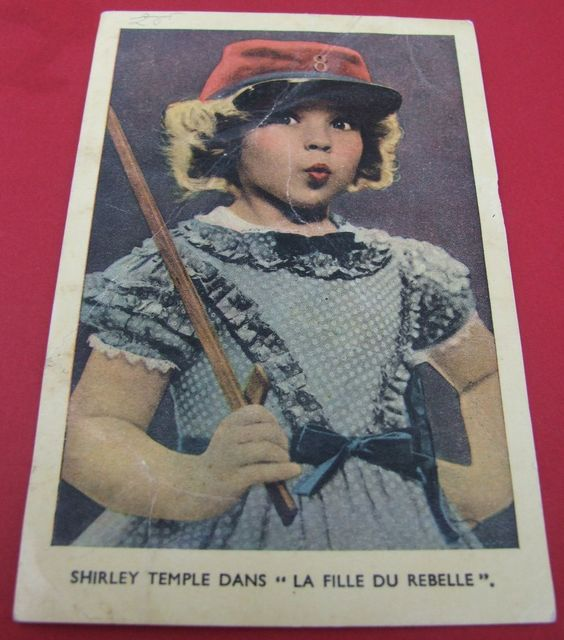 AADI'S PETIT ANGLAISE TREASURES on Ruby Lane http://www.rubylane.com/item/626243-RL647/Vintage-French-real-Shirley-Temple #shirleytemple