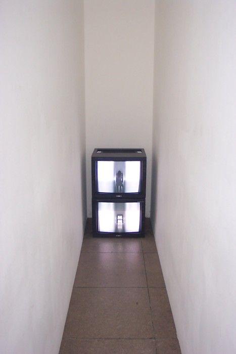 Corridor - Bruce Nauman.
