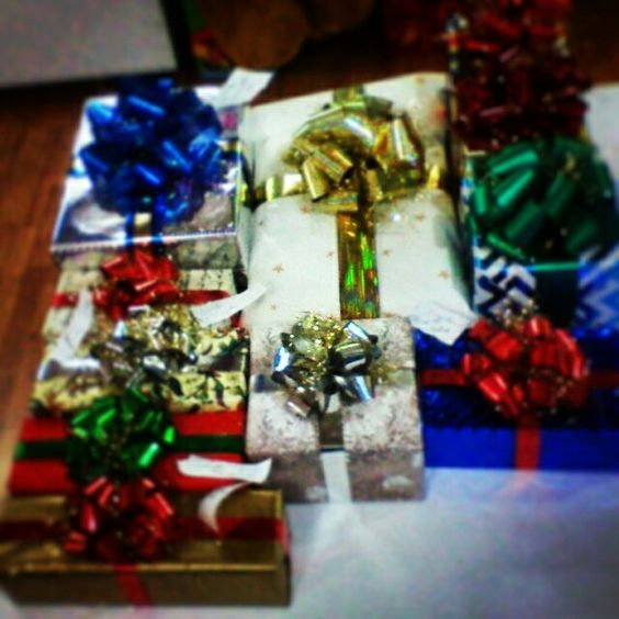 Preparando regalos y mas regalos