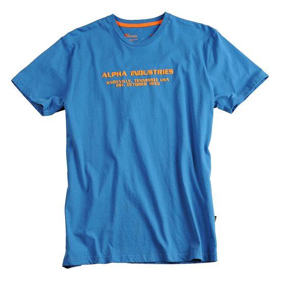"""Produktbeschreibung:      - Alpha Industries T-Shirt """"Rubber Print T"""" aus Combed Cotton Jersey    - 3D Gummi Applikation     - Combed Cotton Jersey     - Carbon Finish        Passform & Größenlauf:      - Normale Passform ( Standard Fit )     - Erhältlich in den Größen: S - 3XL        Material & Pflege:      - Oberstoff : 50% Baumwolle / 50% Polyester    Pflegehinweis: Maschinenwäsche     ..."""