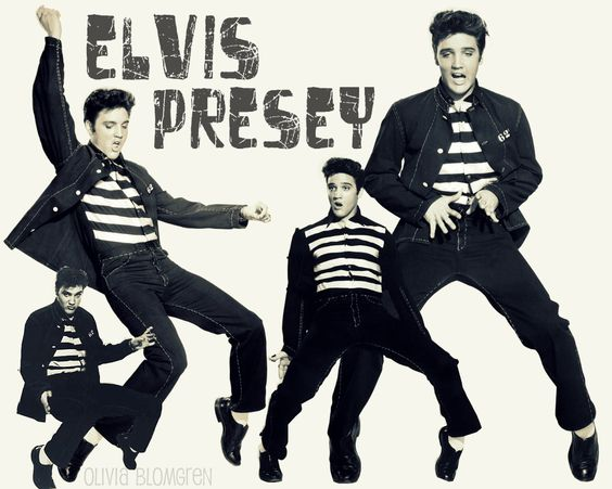 Yes, I'm and Elvis fan!  My favorite song from Jailhouse Rock is actually Young and Beautiful.: Ohhh Elvis, Rock Roll, Elvis King, Elvis Mon Préfère, Elvis Presley