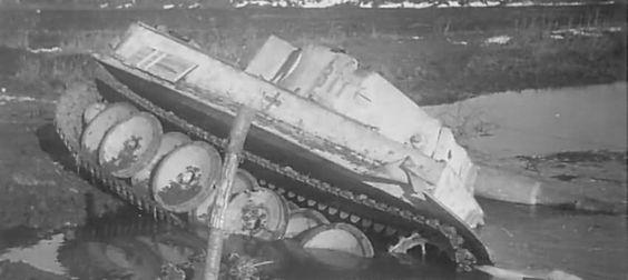 Tiger number 311 Kampfgruppe Bake on Eastern Front