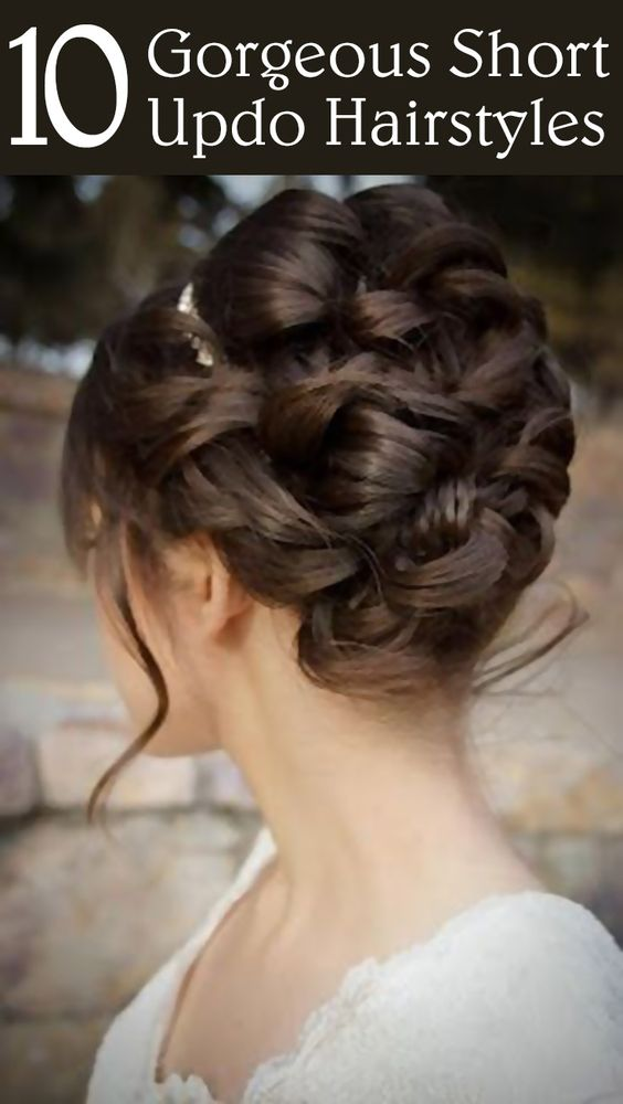 Short updo hairstyles, Updo hairstyle and Updo on Pinterest