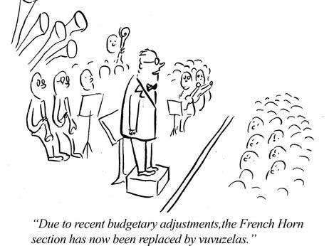 NOOOOOOOOO!! Not the French Horns!