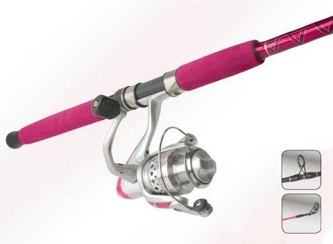 okuma femme fatale pink fishing rod and reel combo 10 foot | shops, Fishing Rod