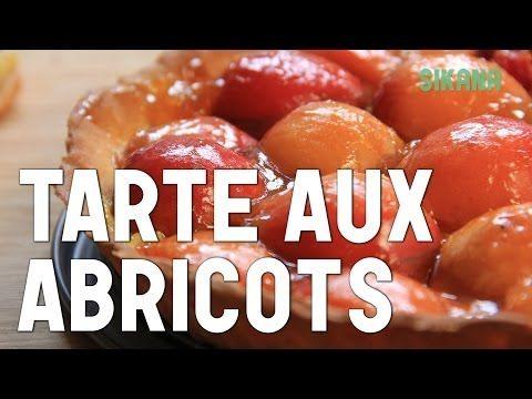 Tarte aux abricots et amandes / apricot tart recipe / طورطة المشمش - YouTube