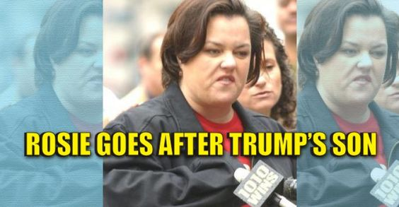 celebrity news rosie odonnell slammed suggesting barron trump autistic