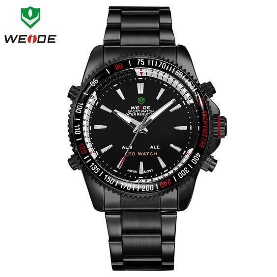 WEIDE Brand Watches Men Watch Water Resistant Calendar Fashion Sports LED & Quartz Watch WH-903B - http://www.aliexpress.com/item/WEIDE-Brand-Watches-Men-Watch-Water-Resistant-Calendar-Fashion-Sports-LED-Quartz-Watch-WH-903B/32318638629.html