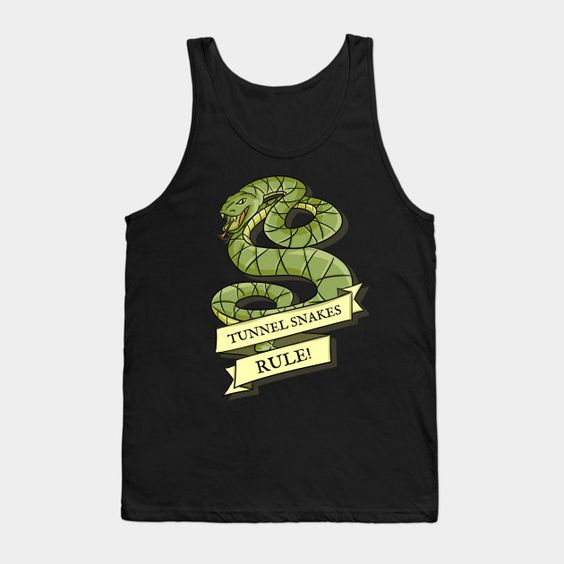 Tunnel Snakes Rule - Mens Tank Top