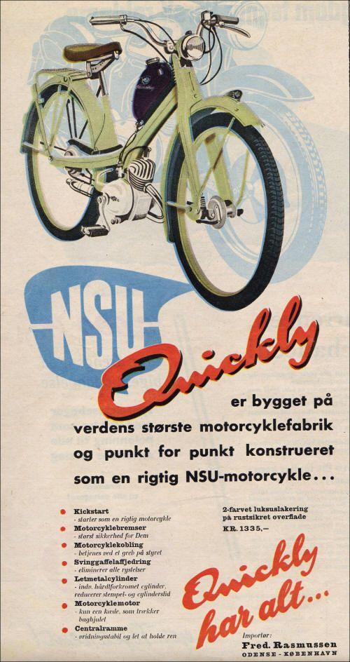 Retro Reklamer Knallerter Vintage Plakater Knallert