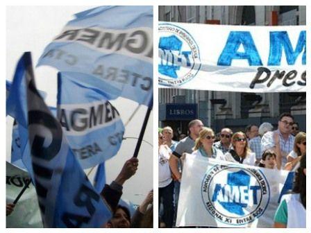 Paran hoy los docentes de Agmer y AMET - Diario El Argentino