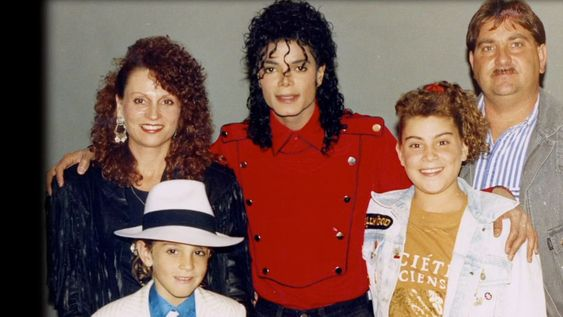 Michael Jackson with the alleged victims