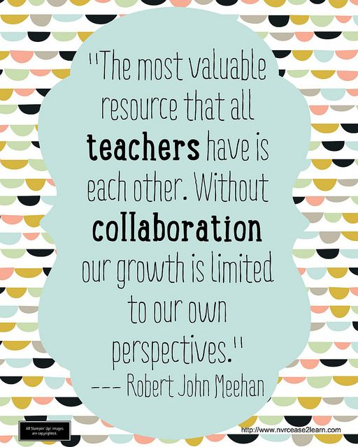 Collaborative Teaching Quotes : Teachers collaboration flickr photo sharing for