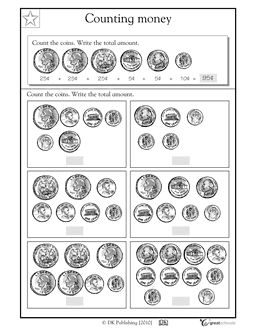 Printables Counting Money Worksheets 3rd Grade the ojays count and money on pinterest coins this math worksheet gives your child practice recognizing coin values adding them up