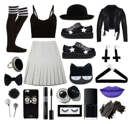 Black And White Polyvore