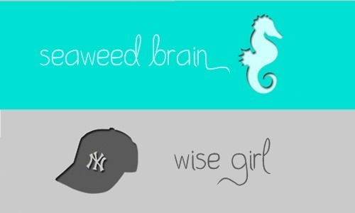 Seaweed Brain and Wise Girl a.k.a. Percabeth
