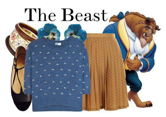 """""""The Beast"""" by samosaurus2014 ❤ liked on Polyvore featuring Darling, Dorothy Perkins, Chanel, M. de PHOCAS, Dries Van Noten, women's clothing, women, female, woman and misses"""