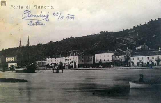 Plomin luka 1909.