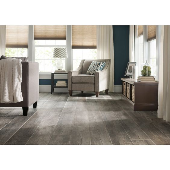 Shop style selections natural timber ash glazed porcelain for Indoor outdoor wood flooring