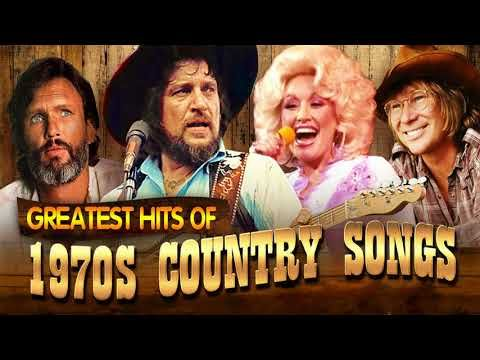 Greatest Country Songs Of 1970s - Best 70s Country Music