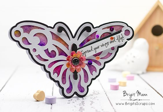 "Brigit's Scraps ""Where Scraps Become Treasures"": Spread Your Wings And Fly! - Dreaming Tree"