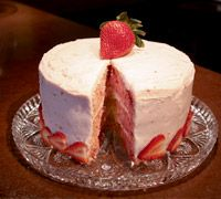 Strawberry cake - martha's special strawberry cake