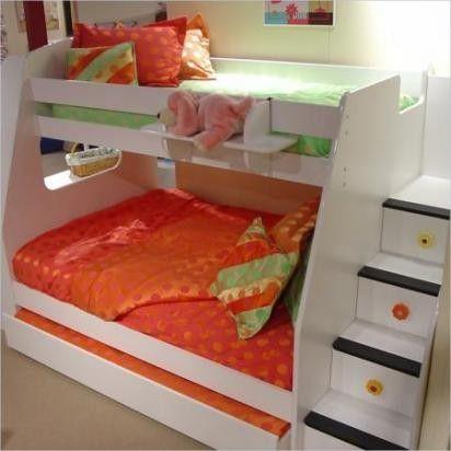 camas y literas infantiles para ellas pinterest bebe