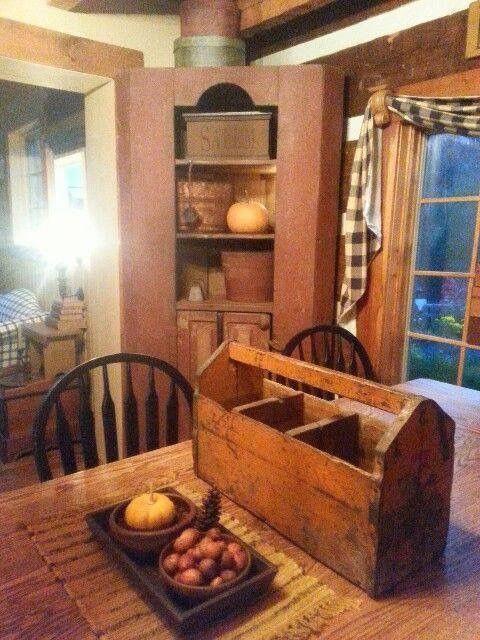 Primitive Decor Clearance Primitivedecor Country Decor Rustic Primitive Dining Rooms Primitive Homes