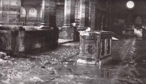 Alluvione '66, i danni in Santa Maria Novella