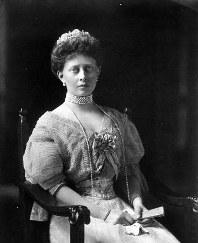 Grandchild of Queen Victoria - Princess Margaret of Prussia (Margarete Beatrice Feodora) (22 April 1872 – 22 January 1954) was a daughter of Frederick III, German Emperor and Victoria, Princess Royal. She married Prince Frederick Charles of Hesse. In 1926 they became Landgrave and Landgravine of Hesse. She lost three sons in both World Wars I and II.