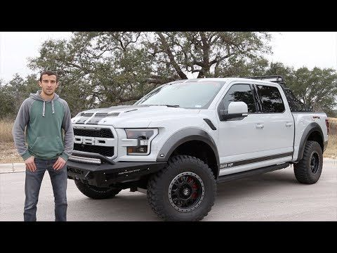 Reviewing The 120 000 Shelby Raptor Baja Edition Ford F 150 Youtube Shelby Raptor Ford F150 Ford