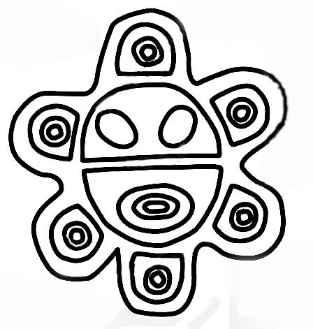 Taino Symbols Parents Sun And Infants