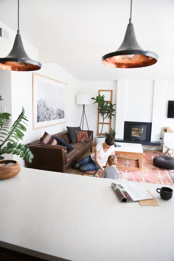 Get inspired with these five incredible mid-century living rooms hand-picked by designer Anna Smith.