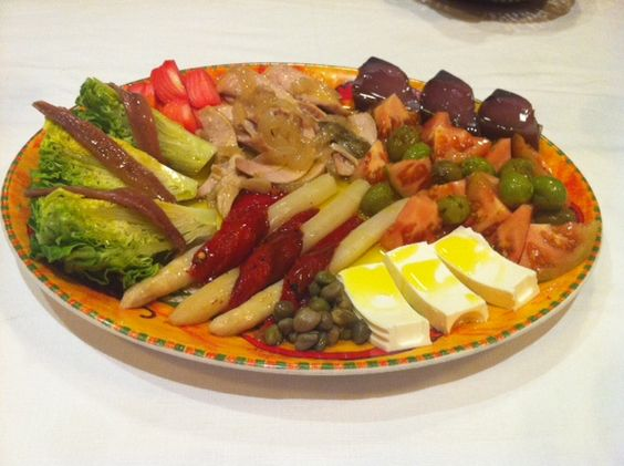 Sharing Salad Catagena Spain