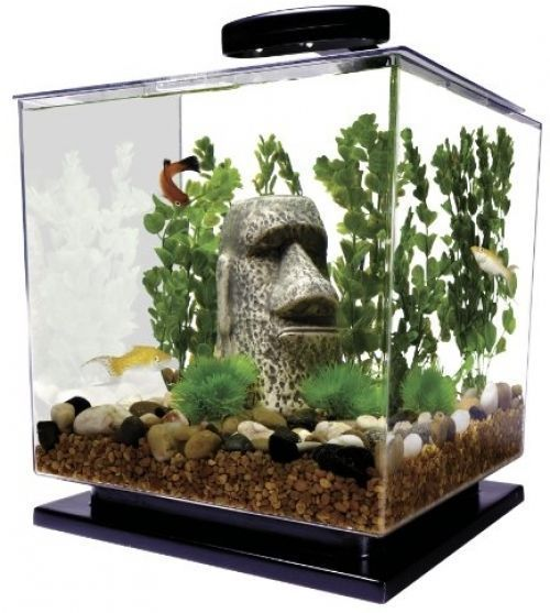 Details about tetra cube aquarium kit fish tank nano for Tetra fish tank