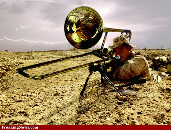 Weapons of brass destruction